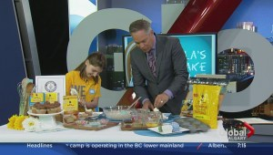 11-year-old baking expert urges youth to bake for a cause