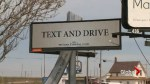 Fake billboard tells drivers to 'text and drive'