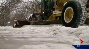 Calgary spending $1M a week for snow removal
