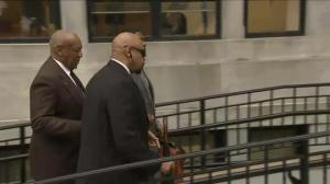 Bill Cosby arrives in court in Philadelphia