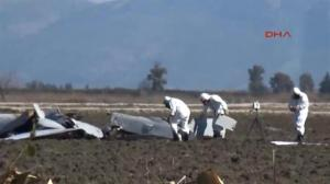 US Predator attack drone crash lands in field in Turkey