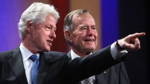 George H.W. Bush's 1993 letter to Bill Clinton goes viral