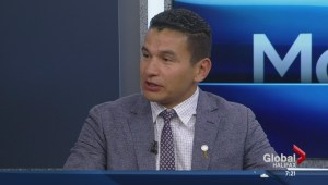Wab Kinew in town for AFN meeting