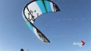 Port Alberni officials ban kite-boarding from popular pier
