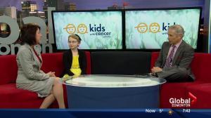 Kids With Cancer Society: Larissa Hamilton talks about her leukemia