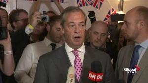 'We will get our independence back': UK Independence Party leader