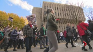 Austerity protests in Quebec City
