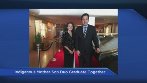 Mother and son graduate from UBC at same time