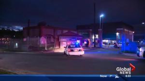 Edmonton police search for fugitive inside sewage plant
