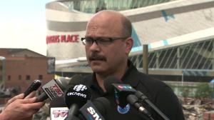 Oilers GM Peter Chiarelli discusses Milan Lucic's durability