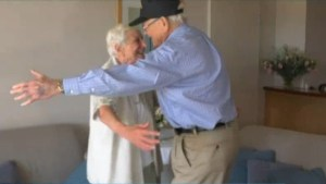 WWII vet reunites with long-lost love after decades apart