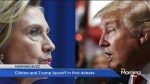 Trump and Clinton: Showdown in New York