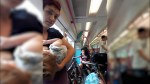 Breastfeeding mom claims she was forced to stand on train after no one gives up seat
