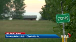 Calgary jury heard gruesome details in Douglas Garland triple-murder trial