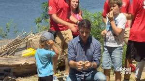Justin Trudeau visits Nova Scotia