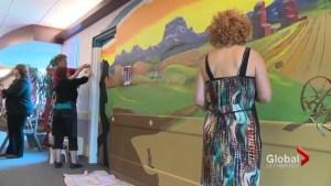 Saint Michael's Health Centre using murals to help dementia patients