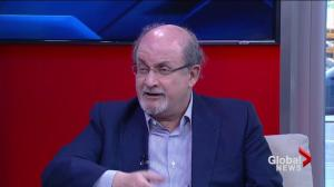 Salman Rushdie talks about latest novel