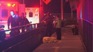 RAW: Fatal bike accident on Jaques Cartier bridge