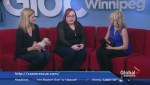 Puppies up for adoption on Global News Morning