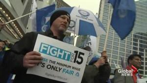 BC's minimum wage fight