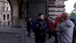 Louvre courtyard reopened following security scare on election day