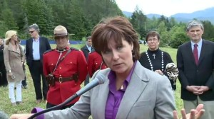 Northern Gateway decision: Christy Clark