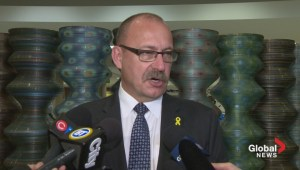 Alberta's Ric McIver returns home from Ottawa