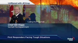 First responders face tough situations