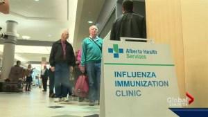 Alberta flu vaccine
