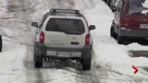Navigating ice and snow in the Lower Mainland