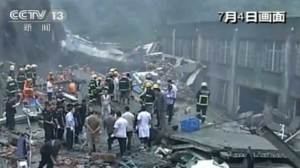 13 dead after shoe factory collapses in China