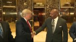 Steve Harvey meets with Donald Trump at Trump Tower