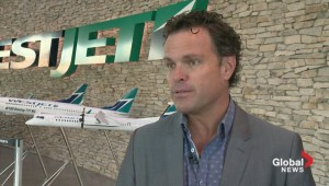 WestJet defends fee for first checked bag
