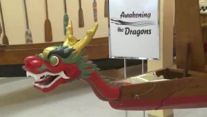 Fleet of aging Expo '86 dragon boats restored in Salmon Arm