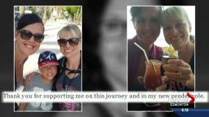 Transgender woman recognized