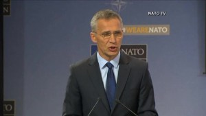NATO chief responds to global ransomware attack