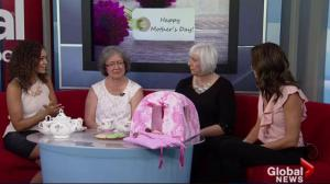 Lisa Dutton, Joelle Tomlinson mom's join them on Global News Morning