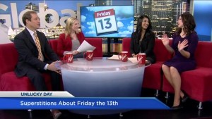 Superstitions about Friday the 13th