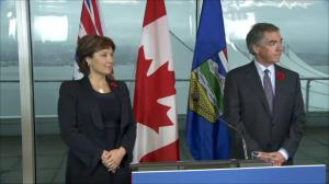 Building the economy front and centre in meeting between BC and Alberta premiers