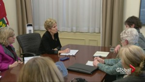 Ontario farmer meets with Premier Kathleen Wynne on hydro
