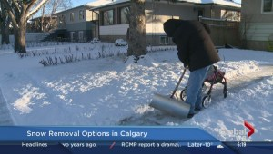 Snow removal options in Calgary