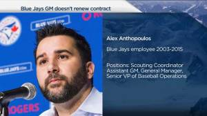 Anthopoulos says decision to leave was 'solely mine'