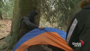 Abbotsford mayor apologizes for destruction of homeless couple's tent
