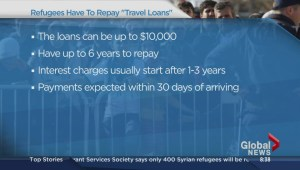 Repayment of Syrian refugee travel loans