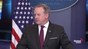 Spicer clarifies White House position on medical, recreational pot