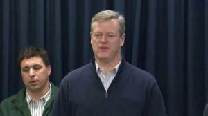 "Gov. Baker on blizzard: ""So far, so good"""