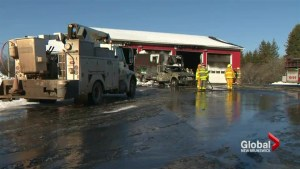 Devastating fire at Havelock fire station damages trucks, equipment