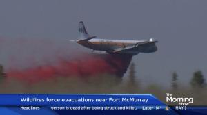 Wildfires force evacuations near Fort McMurray