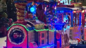 Santa's Parade of Lights brings holiday spirit to downtown Edmonton