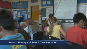French teacher shortage puts immersion programs at risk in BC